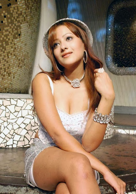 Madalasa Sharma in White Dress
