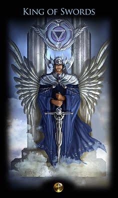 Rei de Espadas, cúspide Touro-Gêmeos