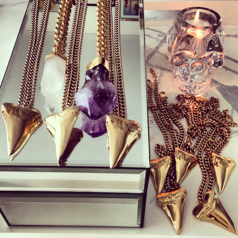 shark tooth jewels