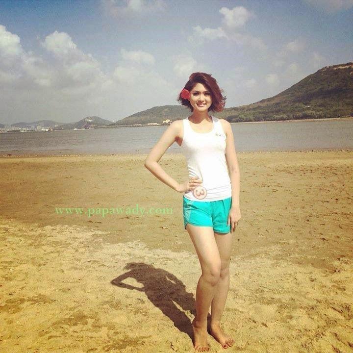 Eaindra Thiriko is Miss Sea Games Myanmar 2013