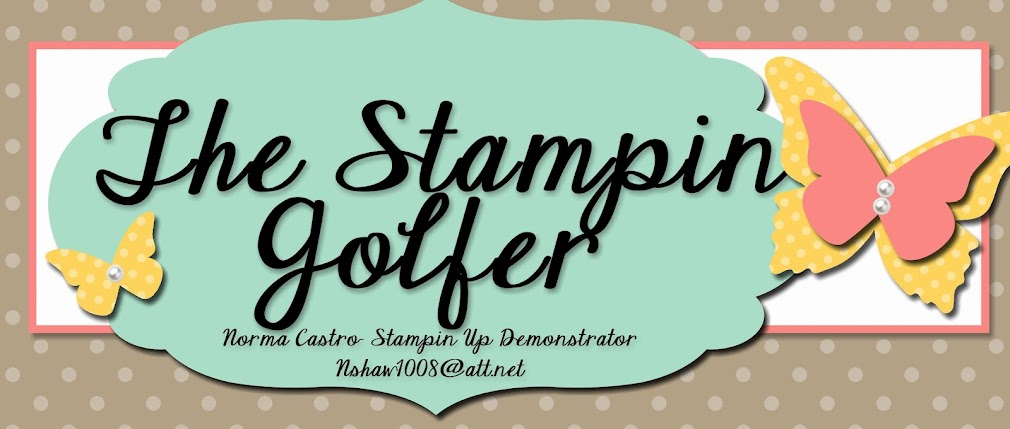 The Stampin Golfer