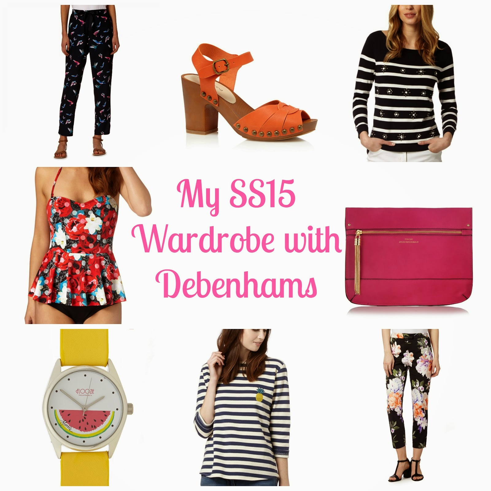 Debenhams SS15 wishlist