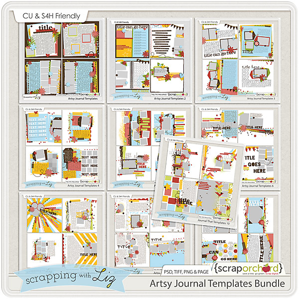 http://scraporchard.com/market/Artsy-Journal-Digital-Scrapbook-Templates-Bundle.html