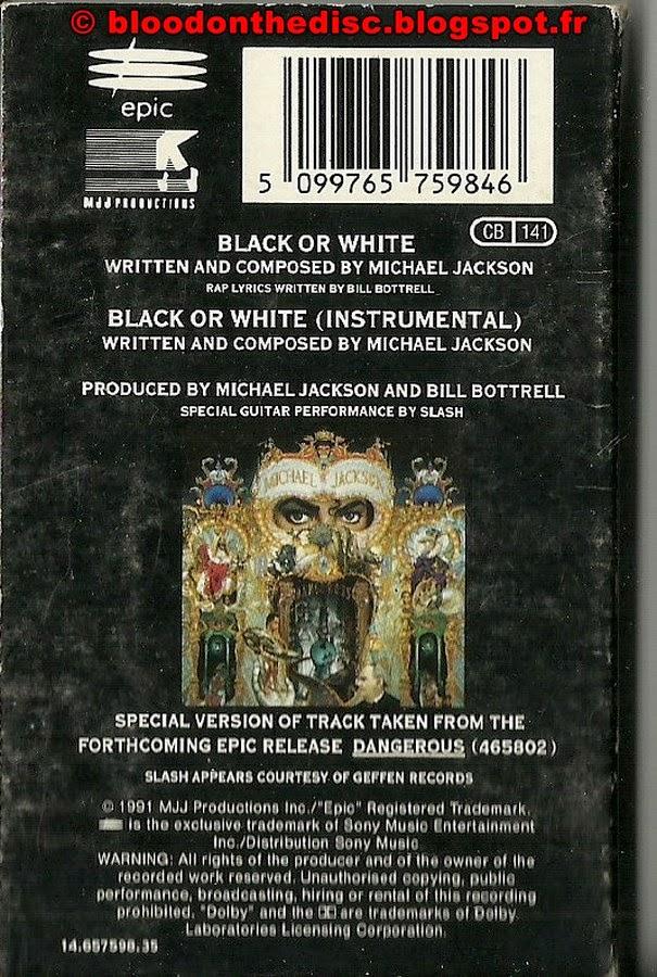 Black Or White Back Cover
