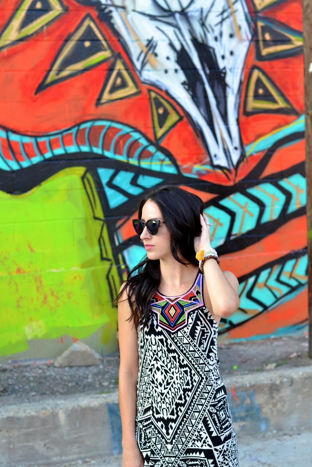 Summer Aztec Maxi