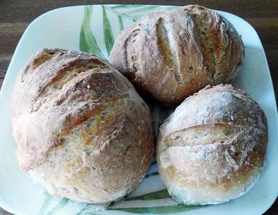 No Knead Artisan Italian Breads