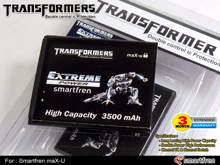 Baterai Double Power AndroMax U Transformer