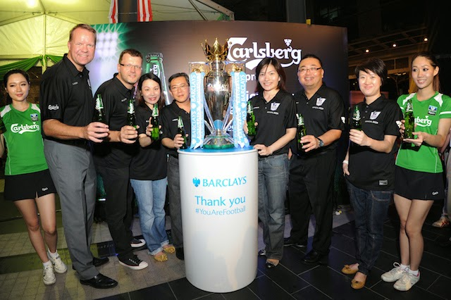 The Official BPL Trophy Arrives in Malaysia! Carlsberg The Official Beer Partner
