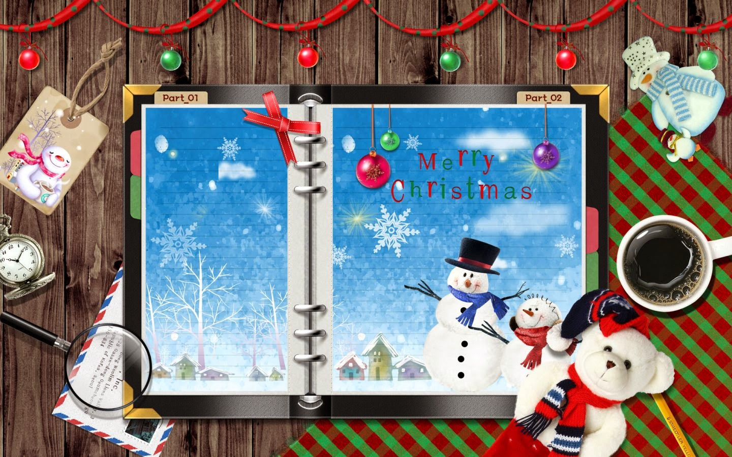 Merry-Christmas-wishes-greetings-card-with-teddy-bear-ornaments-image-picture.jpg