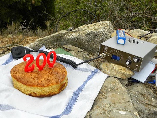 200 actividades de Paco EA5CMP