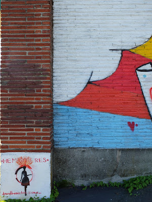 Maintenant Je Vois Mural, Ballard