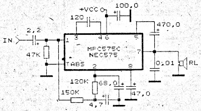 Small Power Amplifier Circuit