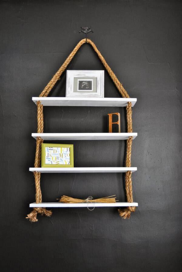 Rope Shelves from RECREATE