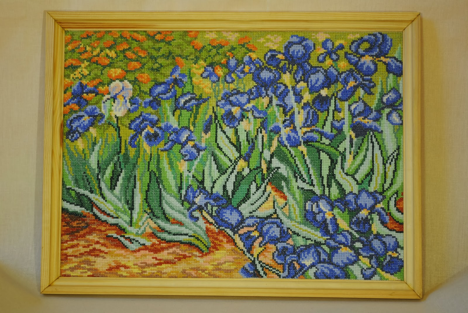 1088 Ван Гог «Звёздная ночь - Мир Вышивки 18