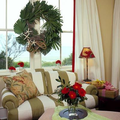 luxuosas guirlandas de natal, estilo e luxo no natal, casa luxosa, festa natalina