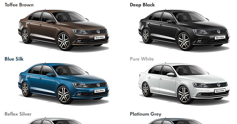 New Volkwagen Jetta 2015 colours - Automobile Planet