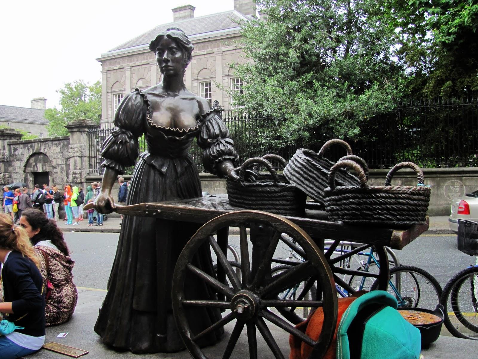 Busty Babe Molly Malone Dublin, Ireland
