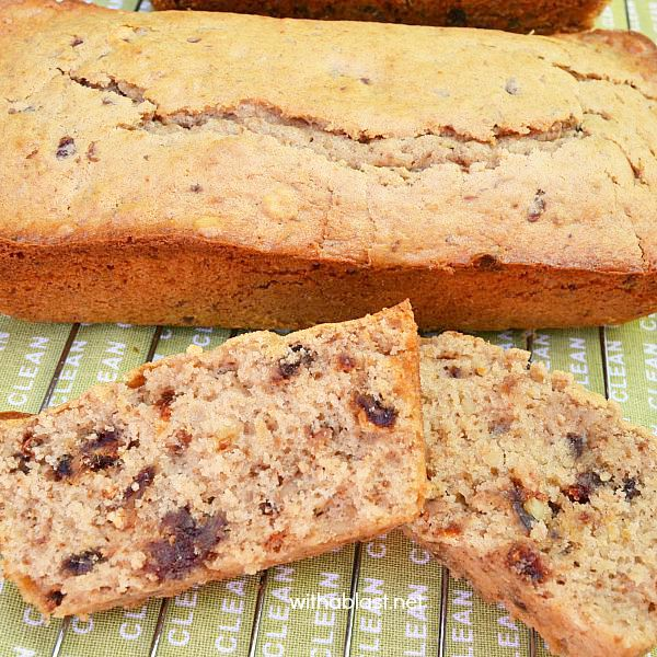 Date and Walnut Bread
