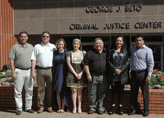 The Mexican delegation includes judges and restorative justice professionals.