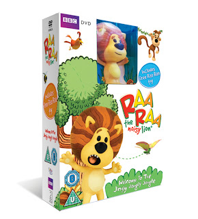 raa raa the noisy lion, Welcome to the Jingly Jangly Jungle, DVD