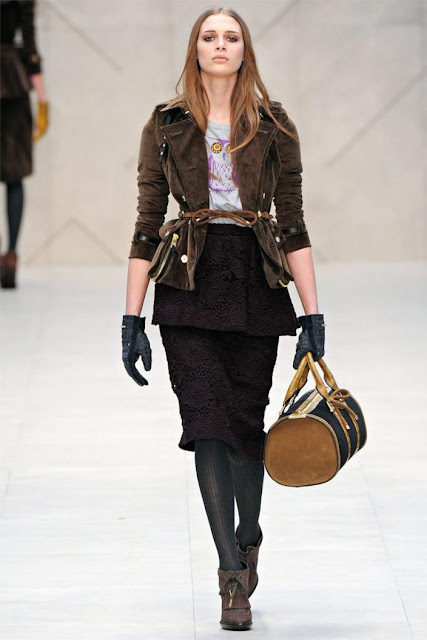 Burberry Lookbook. Winter 2013, lookbook UK