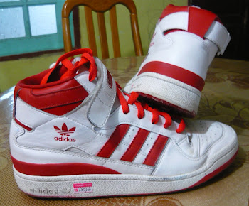 Adidas sz 8.5 UK made in Vietnam