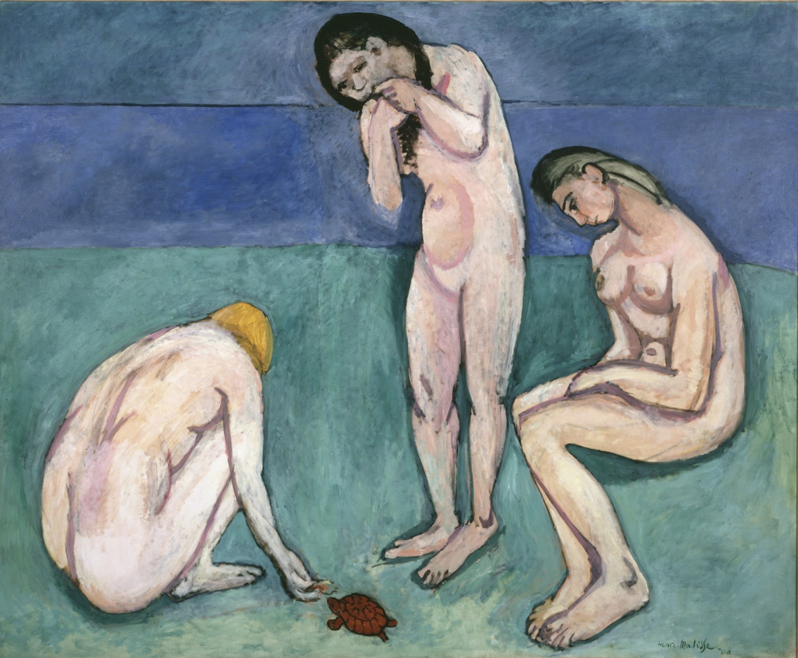 BATHERS+WITH+A+... Matisse Bathers With A Turtle