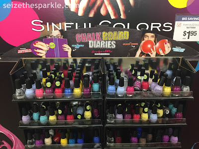 SinfulColors Chalk Board Diaries Big Lots