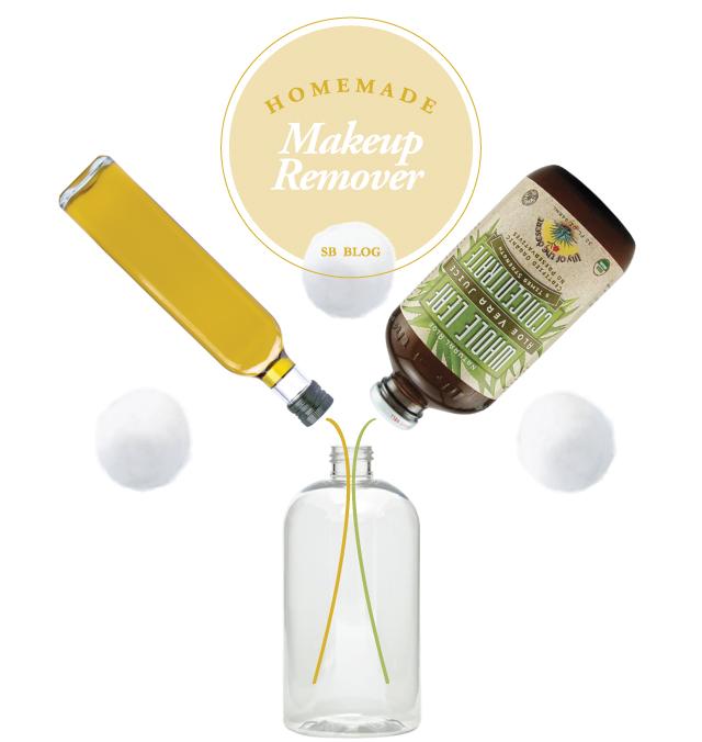 Natural Homemade Makeup Remover DIY via Sunnie Brook Beauty Blog