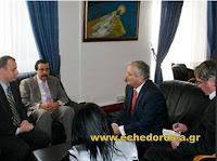 Επίσκεψη του πρέσβη του Κατάρ στο αλβανικό πρακτορείο ειδήσεων