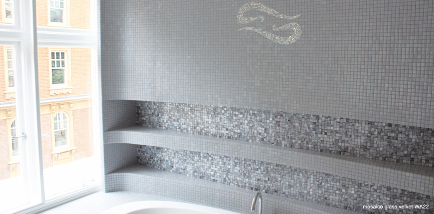Blog as de carreaux for Modele salle de bain avec mosaique