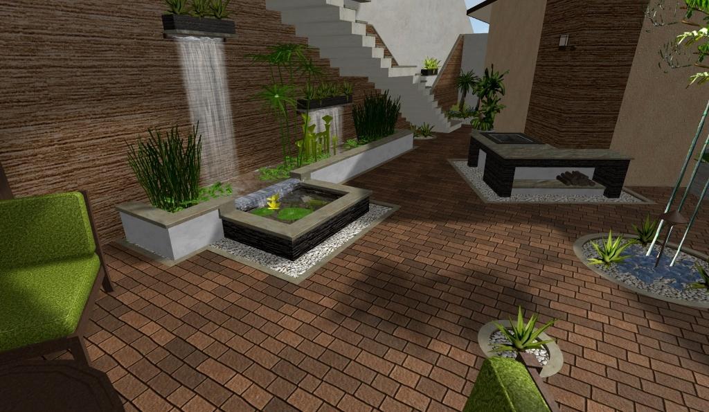 diseños 3d · imagenes · renders de jardines virtuales y exteriores