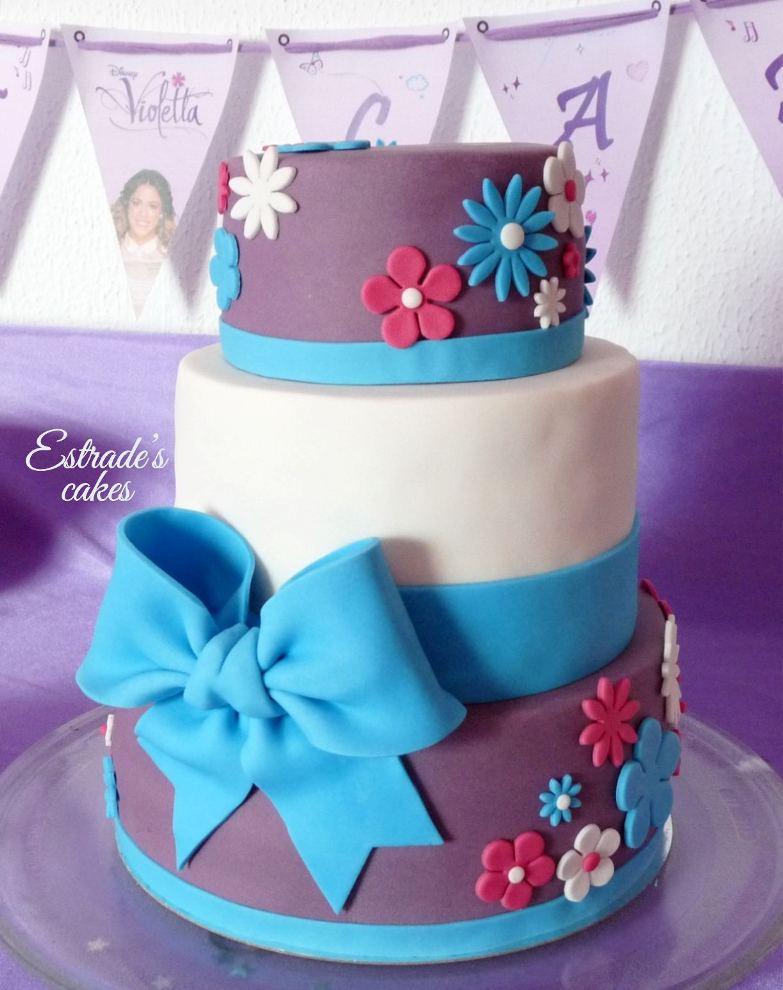 tarta de Violetta para cumpleaños - 1