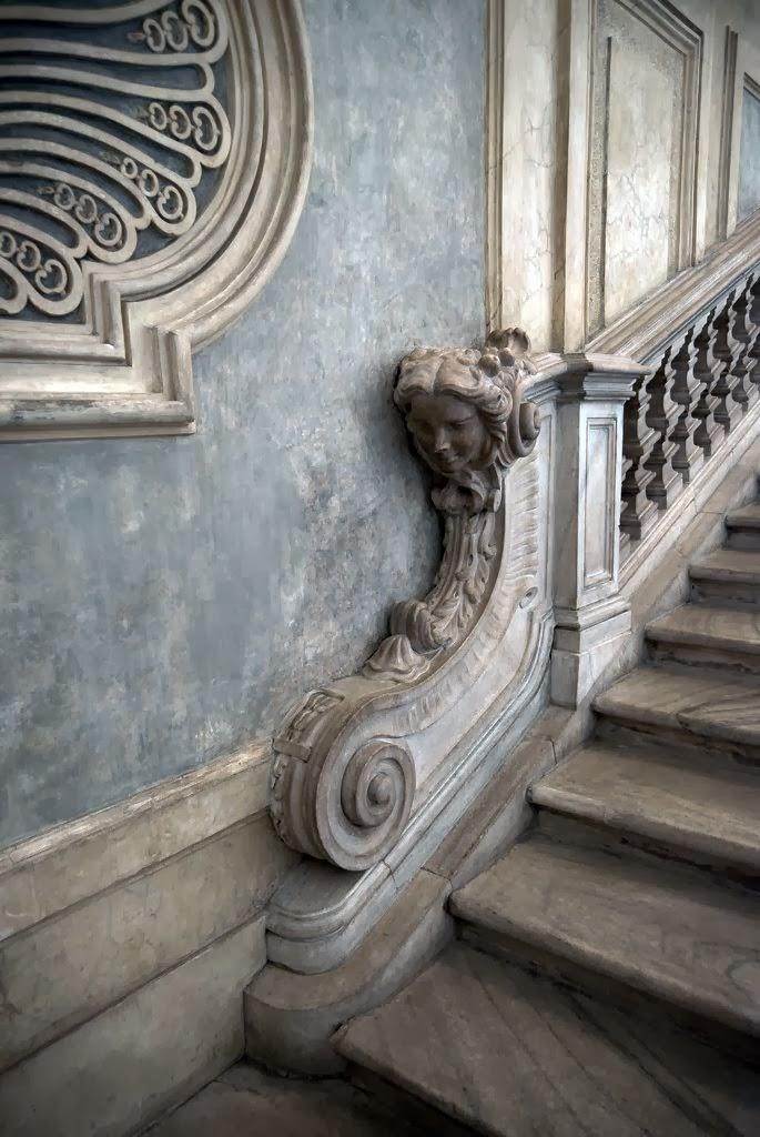 stairs design in Palazzo Madama