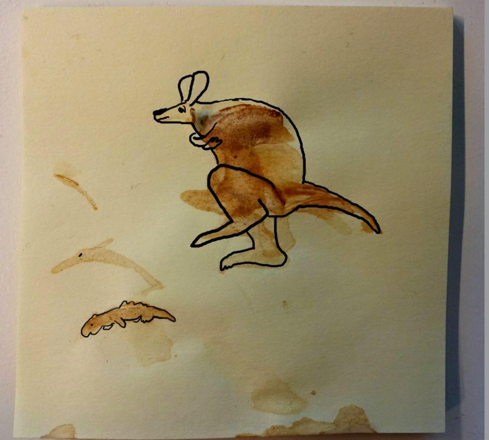 #kaffee - das Känguru