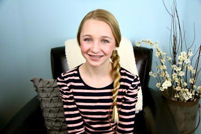 Hair-Wrapped Rope Braid   Easy Hairstyles
