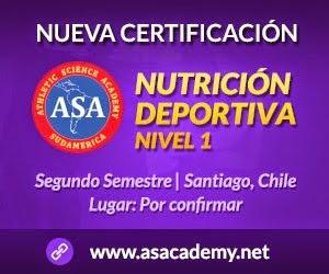 Nueva Certificación: Nutrición Deportiva
