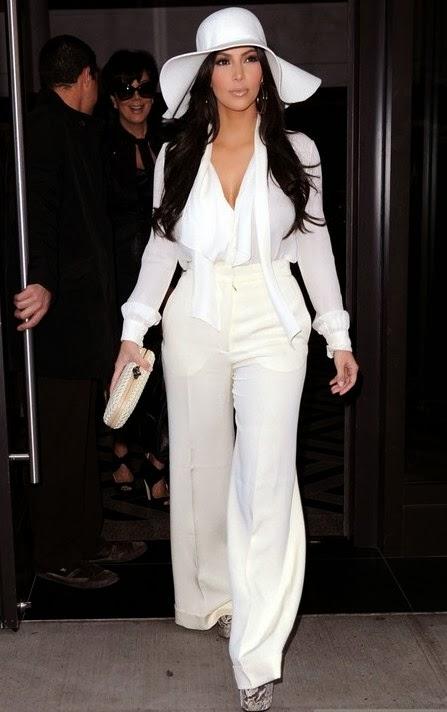 Kim Kardashian fashion style