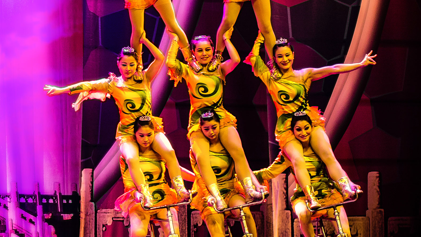 Fly from Philippines to Chaoyang Theatre Flying Acrobatics in Beijing