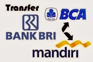Cara Transfer BRI ke BCA dan BRI ke Mandiri ATM Bersama