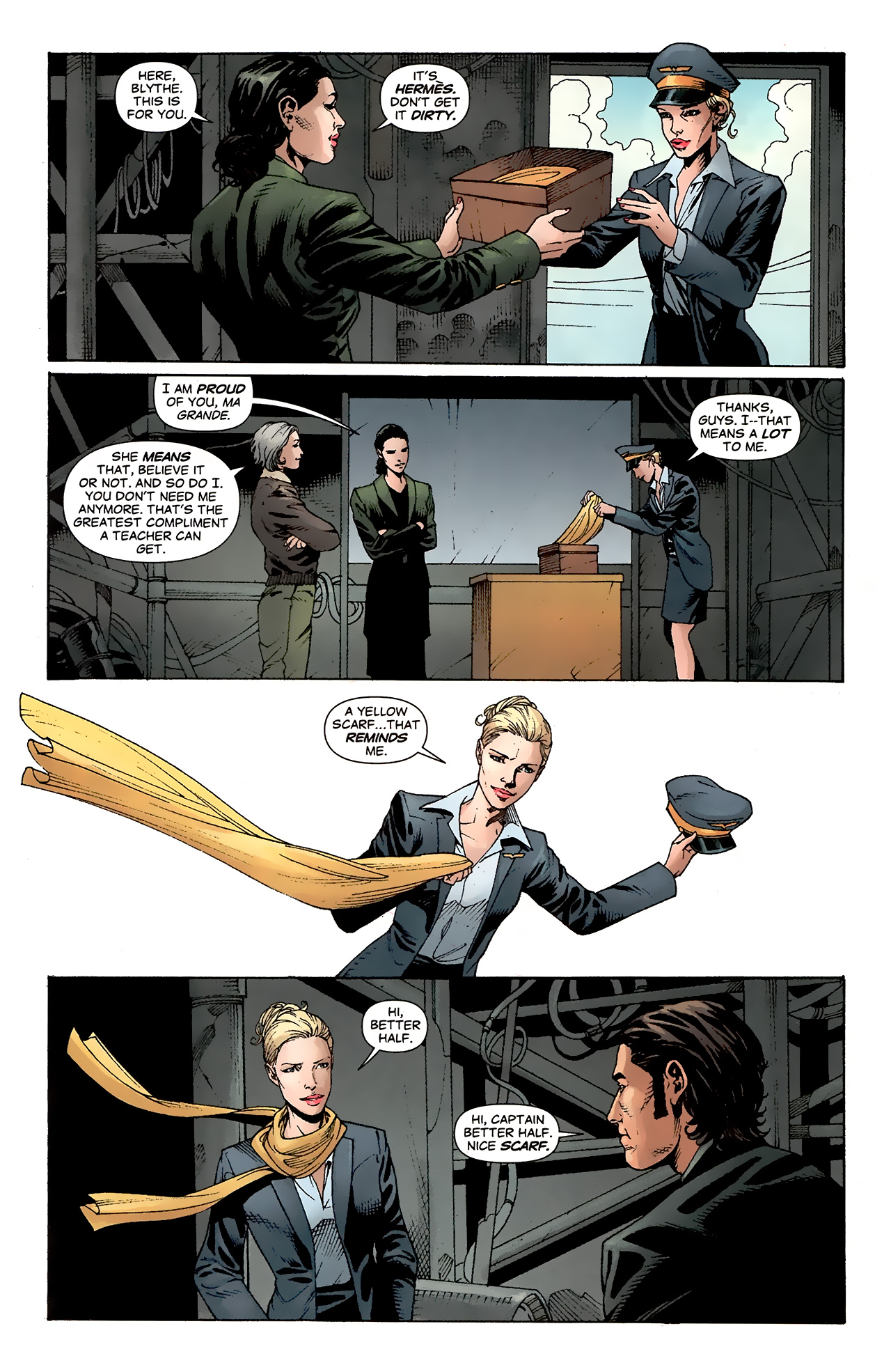 Read online Air comic -  Issue #24 - 23