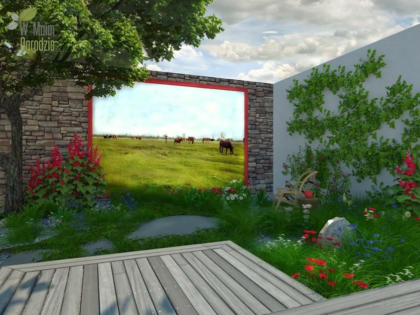 polish garden, polish style garden, polish garden design