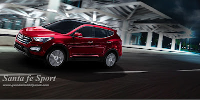 Ini dia ~ Hyundai Santa Fe Varian SPORT !! Rp.417 Juta