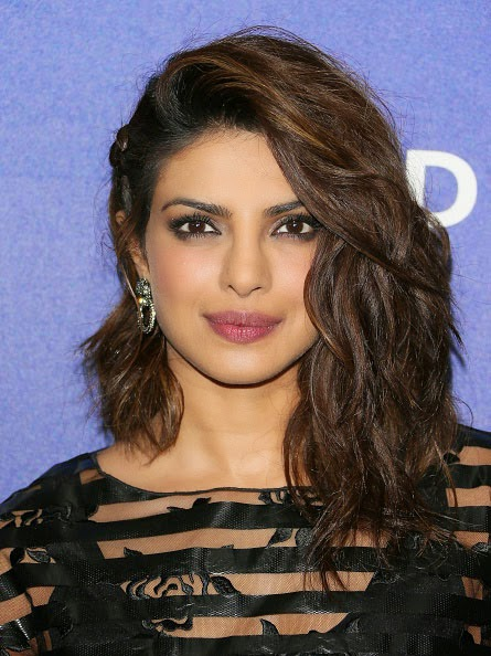 Priyanka Chopra in See-through at Grammy Party