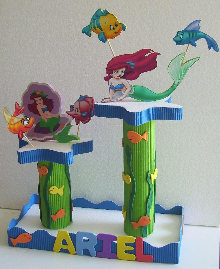 Eventos para tu Bebé: Chupetera de La Sirenita o Princesa Ariel