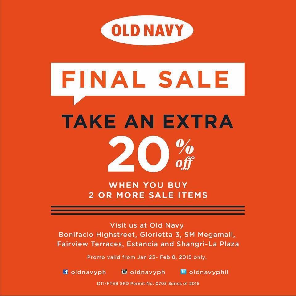 Old Navy: Final Sale! ~ BestDealFinder | PH : finding best deal for you.