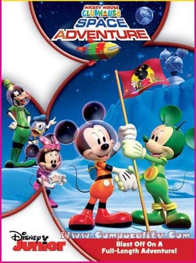 La Casa de Mickey Mouse Aventuras en el Espacio 2011 DVDRip Español Latino Descargar 1 Link
