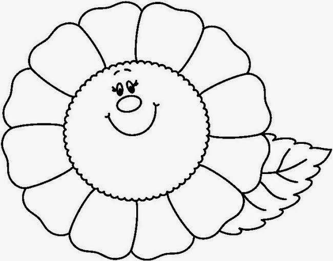 Dibujos de flores Dibujos para pintar