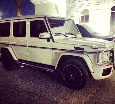 Davido flaunts new Mercedes Benz G wagon G55 AMG Machine + Now verified on Twitter