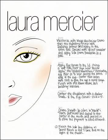 Makeup university inc laura mercier look for marchesa at for Laura mercier new york